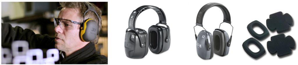 Gehörschutzkapseln